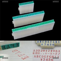 1 Set English Alphabet Letters Numbers Rubber Stamp Free Combination D