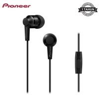 Pioneer SE-C3T Earphone Handsfree Headset Original Murah - Hitam