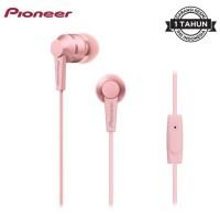 Pioneer SE-C3T Earphone Handsfree Headset Original Murah - Merah Muda