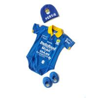 Jumper Bayi Karakter Club Persib Set Topi Kupluk Sepatu Bayi