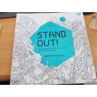 Buku Mewarnai Dewasa - Artivity : Stand Out! (Muhammad Taufiq / Emte)