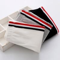 Children Girls Fashion Side Stripe Sports Casual Pants