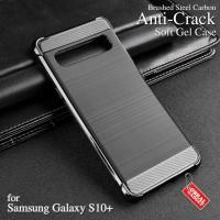 Anti Crack Soft Case Samsung S10+ S10 Plus Softcase Silikon Casing Gel