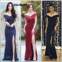 dress megumi / dress pesta super mewah