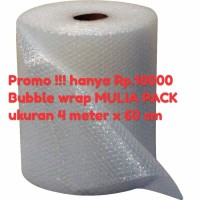 Bubble Wrap 4 meter x 60 cm /buble wrap mulia pack