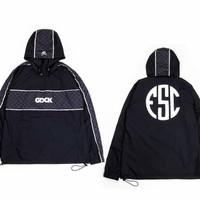 Jaket Hoodie Sweater GDCK X FSC Reflective Water Proof