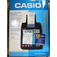 Dijual Kalkulator Mesin Kasir Casio HR 100 TM Print Nota Murah