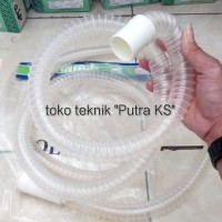 Selang Mesin Cuci Buangan Air Mesin Cuci Panjang 3M Model Fleksibel fu