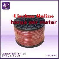 Kabel Strom - Stroom - Strum Power Venom 8 Awg 8awg Original Meteran