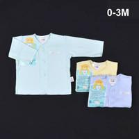Libby 3 pcs Baju Lengan Panjang Bayi / Baby (0-3) Baju Panjang Newborn