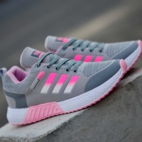 Sepatu Adidas Neo Running Women Sneakers Wanita Olahraga Sport Lari GO