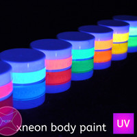 Glow in the dark body paint | UV Glow Body Paint