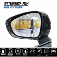 Stiker Kaca Film Spion Anti Fog Air Embun Spion Mobil / RainProof Film