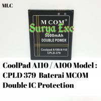 Baterai Coolpad A110/A100 Model CPLD 379/CPLD 379 Double IC Protection