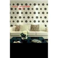 Grosir Murah Wallpaper Sticker Dinding Gelombang Bulat Keren Y-83
