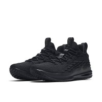 Sepatu Basket Nike Lebron 15 Low Full Black Premium Original