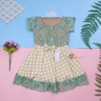 Dress Brukat Davina uk 1-2 Tahun / Dres Anak Perempuan Gaun Pesta