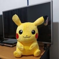 Boneka Pokemon Pikachu Original 35cm Senyum