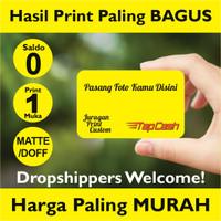 Kartu Tapcash BNI etoll custom foto bebas saldo 0 PRINT 1 MUKA