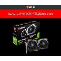 MSI Geforce GTX 1660 Ti 6GB DDR6 - Gaming X 6G