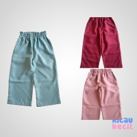 KiddoKiddi Willa Pant – Dusty Green, Dusty pink, Maroon celana anak