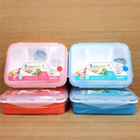 Kotak Makan 4in1 Lunch Box Container Yooyee BPA FREE bisa microwave