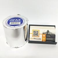 ( 1 DUS ) KERTAS THERMAL 80 X 80 mm PRINTER MESIN ANTRIAN TIKET PARKIR