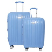 Navy Club Koper Fiber Hardcase Carry Cart 3866 set 2 - 20/24 Inch