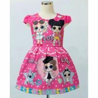 Baju Anak Lol Surprise Dress Pink