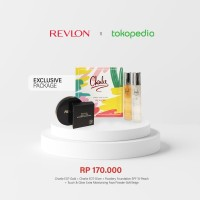 Revlon Charlie Exclusive Package Spray and Glow