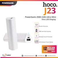 HOCO J23 Powerbank 2500 mAh Ultra Mini Thin Power Bank LED Display