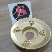 Burner Kuningan kompor Rinnai ORI 522C 522CE 522E A72mm B33mm