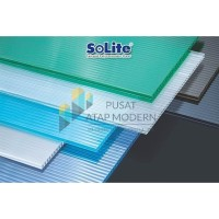 Solite 4mm Atap Polycarbonate Dark Grey - 1/2 Roll