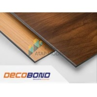 ACP Aluminium Composite Panel Decobond 3mm - Motif Kayu