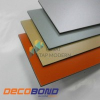ACP Aluminium Composite Panel Decobond 3mm - Pure White/Bright Silver