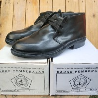 Sepatu PDH TNI / Sepatu pdh Jatah badan pembekalan