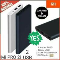 PowerBank Xiaomi Mi PRO 2i 10000mAh 2USB Fast Charging Mi2i Mi 2i Navy