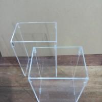 Aquarium mini acrylic akrilik 10x7x15