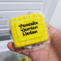 Pancake Durian Jumbo Satuan - Pancake Duren Medan Premium - Pancake