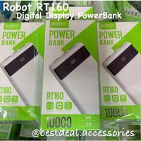 Robot RT160 Powerbank 10000mAh Digital Display Lightning & Micro Input