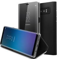 Samsung Galaxy Note 8 PREMIUM Mirror Wallet Back Casing Hard Case with