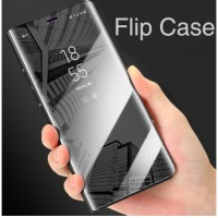 Flip Case VIVO V9 Y85 Clear View Standing Cover