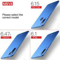MSVII Huawei P30 P30 PRO P30 Lite - Luxury Slim Matte Hardcase
