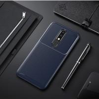 Case Nokia 5.1 Plus Softcase Nokia X5 2018 Original Shockproof Carbon