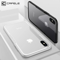 IPhone X XS Cafele Original Back Tempered Glass Case High Quality