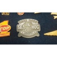 Pin jadul Harley Davidson Sea Hog Bali 2K bonus pin HD 3cm
