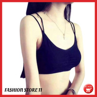 Bra Dalaman Bustier Fashion Bralette Tali Rantai Bra Lace Wanita FS266