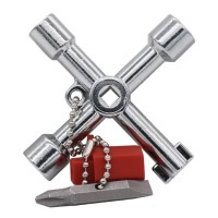 BST Kunci Pas Multifungsi 5 in 1 dengan Obeng Plus Minus