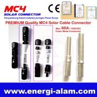 Konektor MC4 Panel Surya - HIGH Quality 6MM / Solar Module Connector