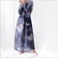 vanilla hijab winter dress sz L